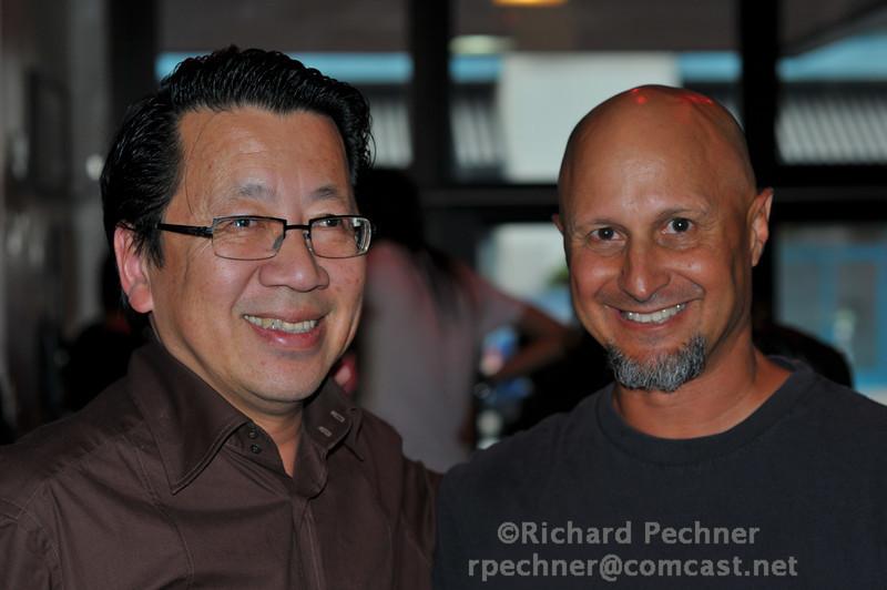 Ben Fong-Torres and Steve Ashman