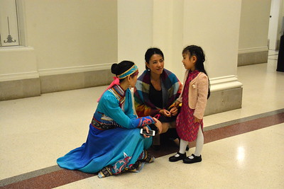 After the show - Opera Carolina - 2015 Art, Poetry, Music @ Halton Theater, Charlotte, NC  10-3-15