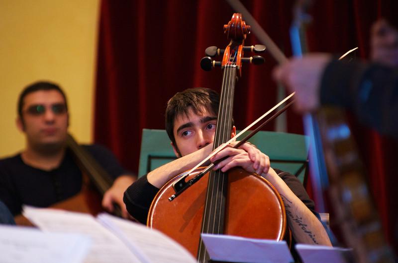 Giulio Cazzani ( cello / violoncello )