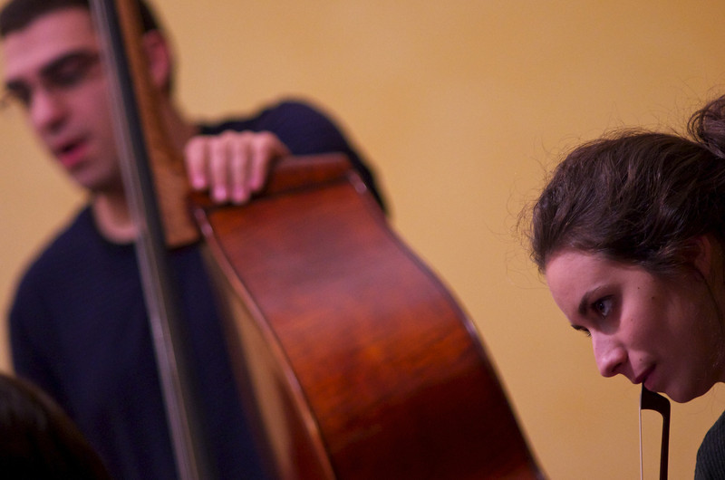 Kaveh Daneshmand ( double bass, upright bass / contrabbasso)