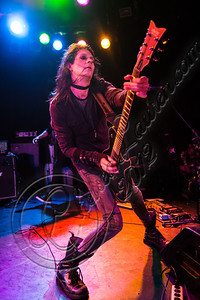 WEST HOLLYWOOD, CA - SEPTEMBER 23:  Guitarist Carlton Bost of Orgy performs at The Roxy Theatre on September 23, 2012 in West Hollywood, California.  (Photo by Chelsea Lauren/WireImage)