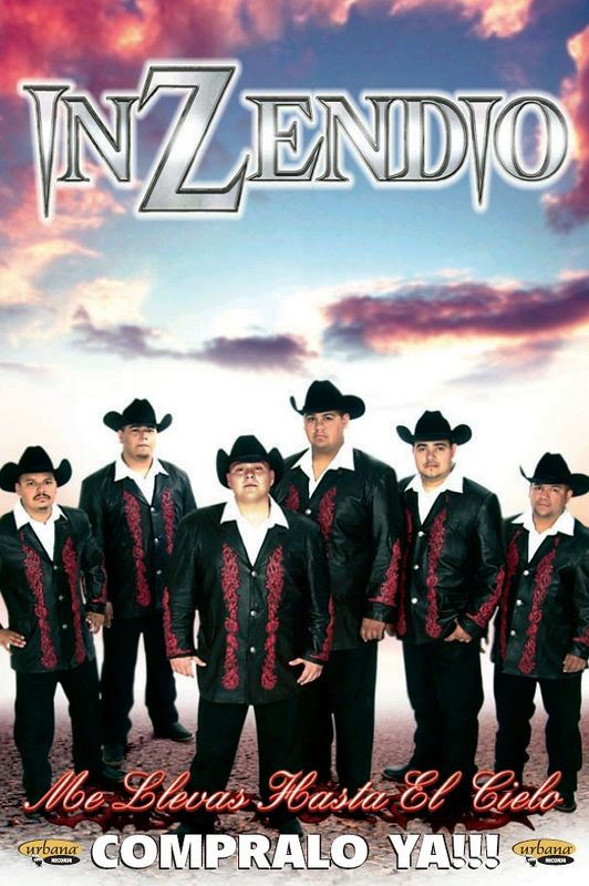"""Me Llevas Hasta El Cielo""  was on 8-9-2005 on Urbana Records.  This CD was produced by Armando Lichtenberger of La Mafia, with arrangements by Johnny Lee Rosas of Intocable.  You can listen to clips on their official site<br />  <a href=""http://www.inzendio.com"">http://www.inzendio.com</a>   or go to the brand new ""myspace"" site they have created to listen to several songs and keep up with their tour dates : <a href=""http://www.myspace.com/inzendio"">http://www.myspace.com/inzendio</a>"
