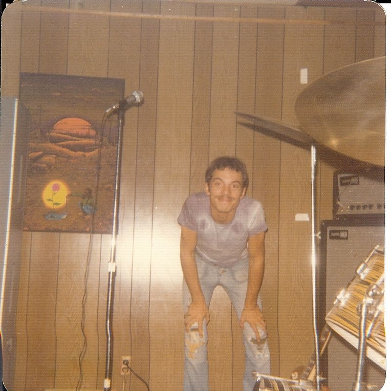 "I believe this is the ""Only"" picture of me from my ""band"" days while I was serving in the Army @ Ft. Leonard Wood, MO. This was at a bar in Waynesville, outside of the post area, just off  INT 44 in Missouri. Now those were some ""Strange"" days, indeed !"