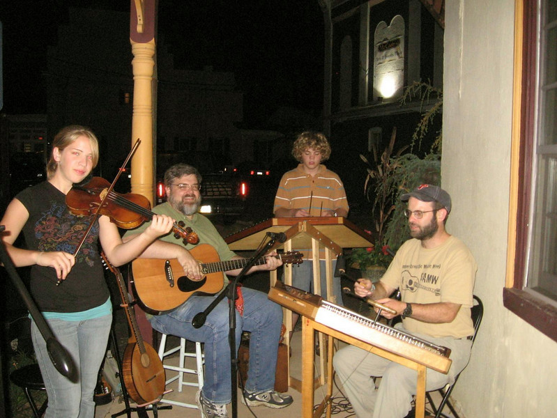 DayBreak at McCoole's in Quakertown--  Sept., '07 (Lyd, Rob, Seth, Cliff)