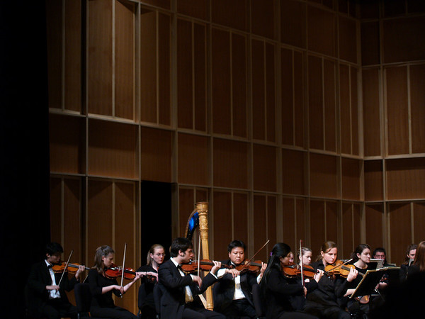 West  Chester University Orchestra, 2007- violin section
