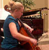 Trudy playing solo recital at SMH for her senior project