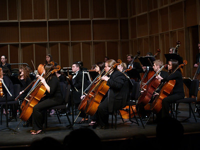 West  Chester University Orchestra, 2007-- Trudy in middle