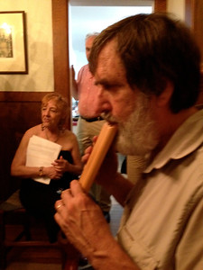 Ken on panpipes