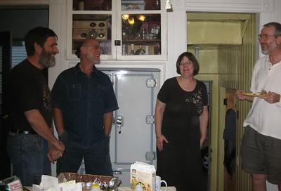 Ken, Barry, Donna, Dan