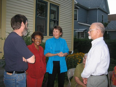 Ken, Doris, Nancy, Naomi (seated), Dave
