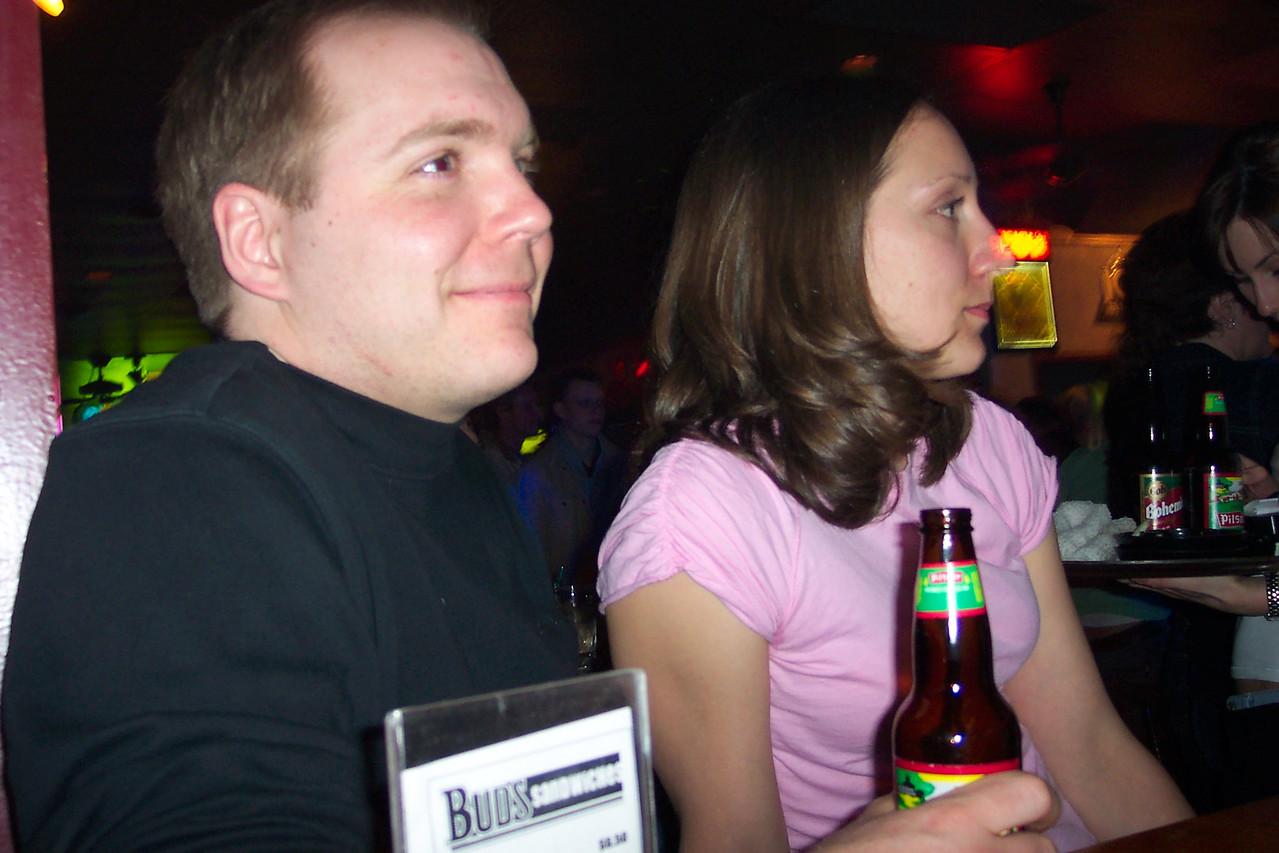 Chris and Christine.