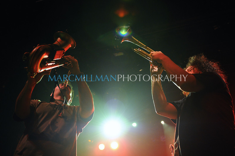 Raise your horns<br /> <br /> Ozomatli @ Irving Plaza (Thur 2/3/11)