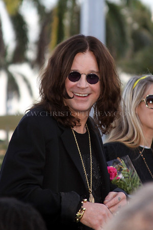 Ozzy Osborne receives Key to City of West Palm Beach, FL