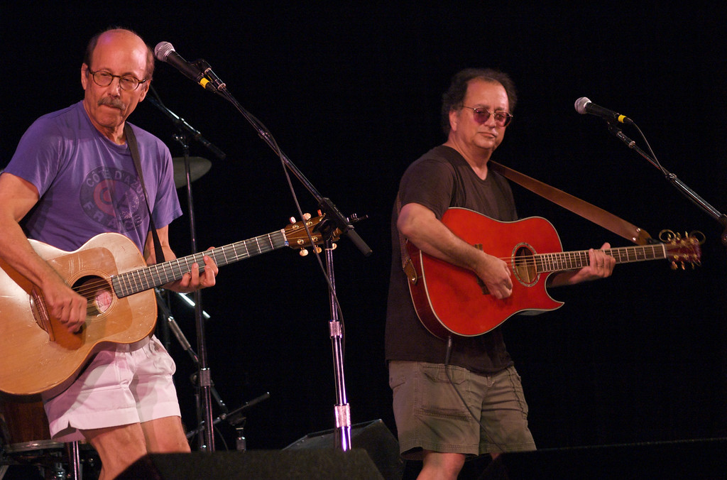 Philadelphia Folk Festival 2009Buskin and Batteau, David Buskin, Robin Batteau