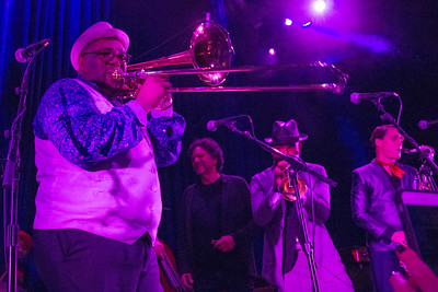 Preservation Hall Jazz Band, Danny Clinch and friends at the McKittrick to benefit Preservation Hall Foundation and Music Cares