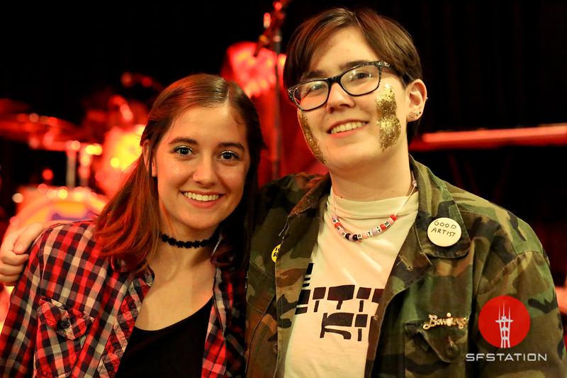 PWR BTTM, Feb 23, 2017 at Starline Social Club in Oakland