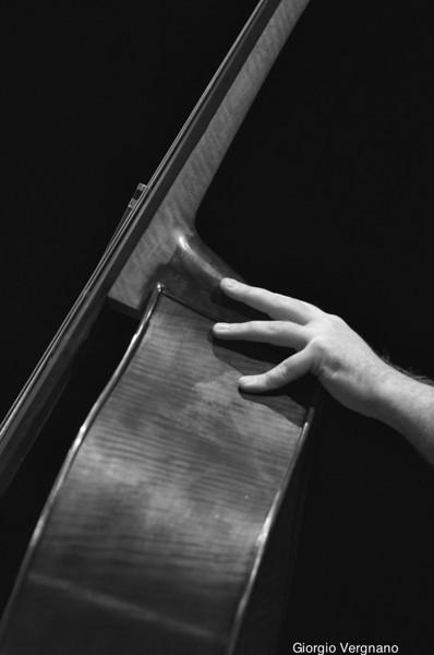 Kaveh's double bass - il contrabbasso di Kaveh Daneshmand