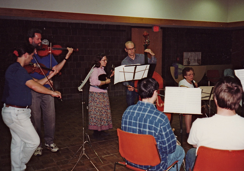 Bring-your-own-instrument night at AIFD.  October 1994.
