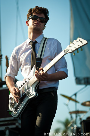 Ian Crawford of Panic! At The Disco performs on May 28, 2011 during 97X Backyard BBQ at Vinoy Park in St. Petersburg, Florida