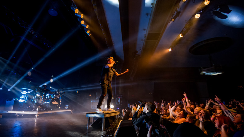 April 22, 2018 Alt 103.3 and Dahila Presents Papa Roach at the Egyptian Room at Old National Centre in Indianapolis, Indiana. Photo by Tony Vasquez for Badass Productions