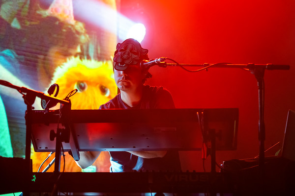 Papadosio's Fall Freaquence at the Old National Centre in Indianapolis, Indiana on November 1, 2019. Photo by Tony Vasquez.