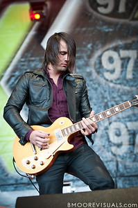 Joey Signa of Paper Tongues performs in support of their self-titled debut on December 5, 2010 during 97X Next Big Thing at 1-800-ASK-GARY Amphitheatre in Tampa, Florida