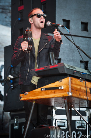 Cody Blackler of Paper Tongues performs in support of their self-titled debut on December 5, 2010 during 97X Next Big Thing at 1-800-ASK-GARY Amphitheatre in Tampa, Florida