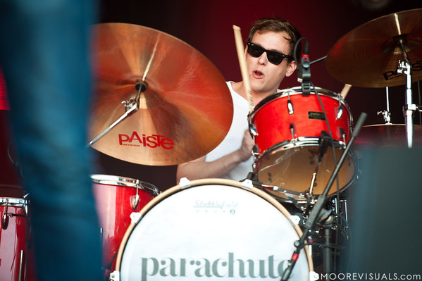 "Johnny Stubblefield of Parachute performs on November 12, 2011 during ""Orlando Calling 2011"" at The Citrus Bowl in Orlando, Florida"