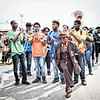 Chosen Ones Brass Band with Big Nine and Go Getters Social Aid & Pleasure Clubs and Ladies of Unity LLC parade (Fri 4 28 17)_April 28, 20170028-Edit