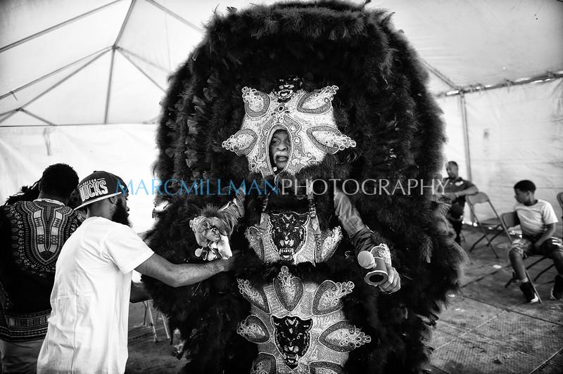 New Orleans Mardi Gras Indian Rhythm Section parade (Sat 4 27 19)_April 27, 20190007-Edit