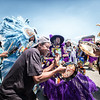 Young Cherokee and Golden Comanche Mardi Gras Indians parade (Fri 5 5 17)_May 05, 20170085-Edit