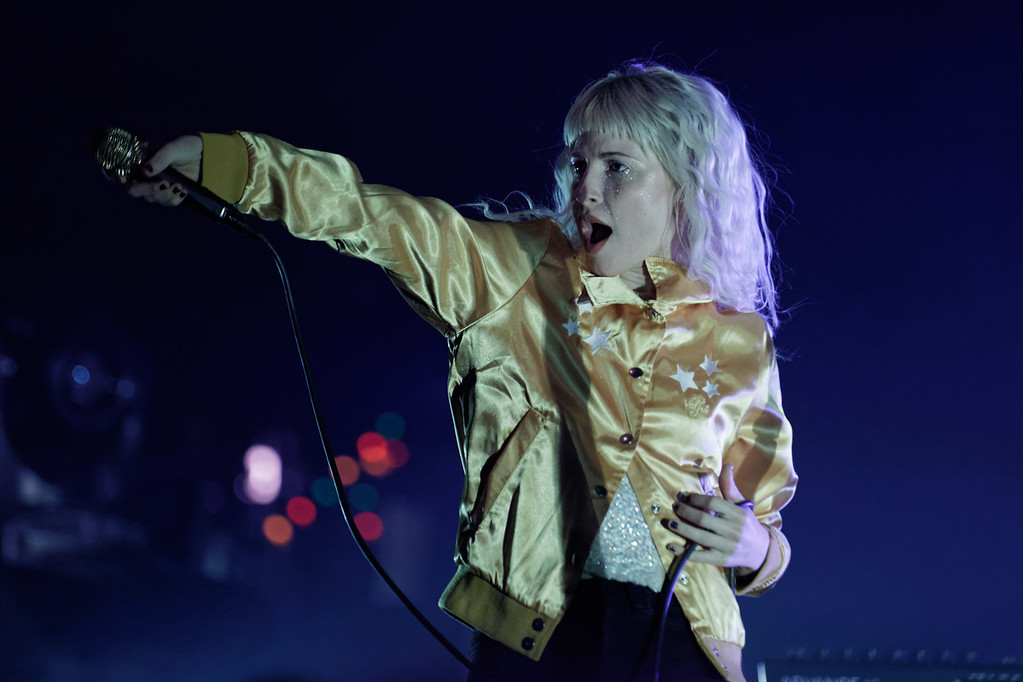 . Paramore live at The Fox Theatre on 9-15-2017. Photo credit: Ken Settle