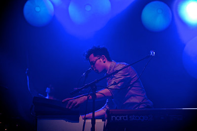 Passion Pit performs at The Madison Theater Wednesday night