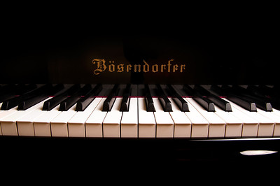 Patrick Dunn with Bosendorfer