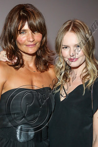 "LOS ANGELES, CA - SEPTEMBER 01:  Model Helena Christensen (L) and actress Kate Bosworth attend the listening party for Paul Banks' album ""Julian Plenti Lives..."" at Sonos Studio on September 1, 2012 in Los Angeles, California.  (Photo by Chelsea Lauren/WireImage)"
