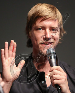 "LOS ANGELES, CA - SEPTEMBER 01:  Musician Paul Banks speaks at the listening party for his album ""Julian Plenti Lives..."" at Sonos Studio on September 1, 2012 in Los Angeles, California.  (Photo by Chelsea Lauren/WireImage)"