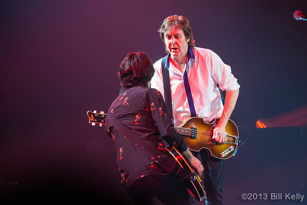 Paul McCartney at the Barclays 6.10.13