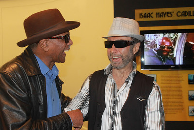 "Earl ""the pearl"" Banks and Paul Rodgers at ""The Royal Sessions"" album release party ( (2/15/14)."