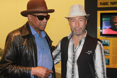 "Earl ""the pearl"" Banks and Paul Rodgers at ""The Royal Sessions"" album release party  (2/15/14)."