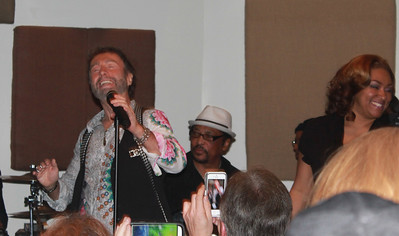 "Paul Rodgers and the Memphis All Stars at ""The Royal Sessions"" album release  party (2/15/14)."