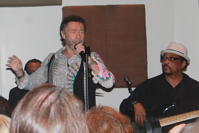 "Paul Rodgers and the Memphis All Stars at ""The Royal Sessions"" album release party( (2/15/14)."