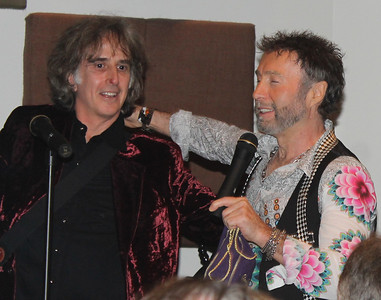 "Perry Margouleff and Paul Rodgers at ""The Royal Sessions"" album release  party (2/15/14)."