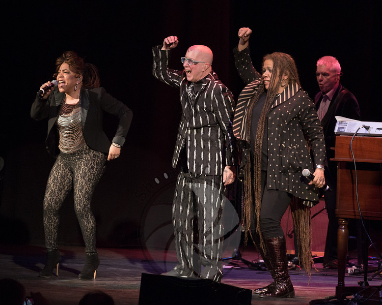 Paul Shaffer & his band