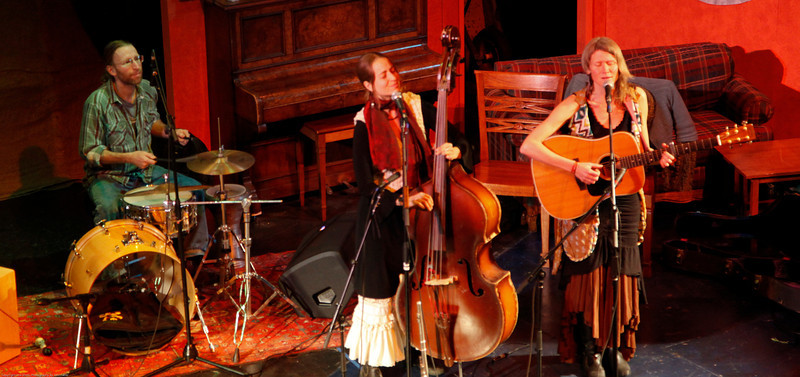 Paul Kamm & Eleanore MacDonald & MaMuse 02/18/12 Nevada Theatre Nevada City Ca.