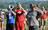 The Pennridge High School marching band prepares for the upcoming season during band camp. Montgomery Media photo / DEBBY HIGH