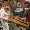 Michèle Stone & Maxine Butler, playing the Xylophone