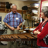 John and Barbara Flores, playing the Xylophone