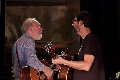 Pete Seeger and Tao Rodriquez Seeger
