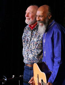 Pete Seeger and Ritchie Havens.