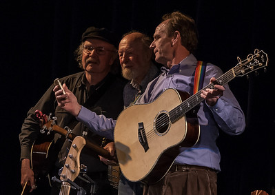 Tom Paxton, Pete Seeger and Livingston Taylor.